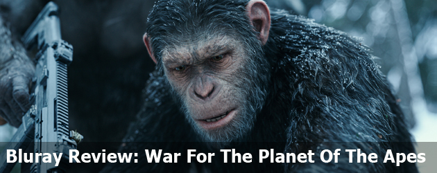 Bluray Review: War For The Planet Of The Apes