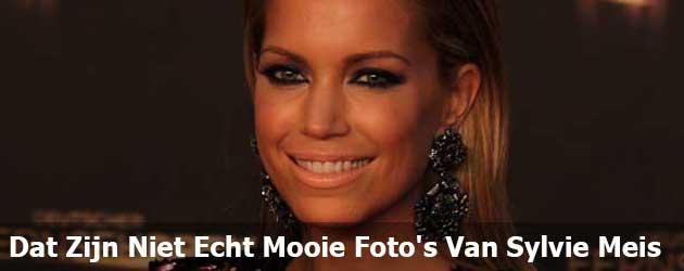 Dat Zijn Niet Echt Mooie Foto's Van Sylvie Meis