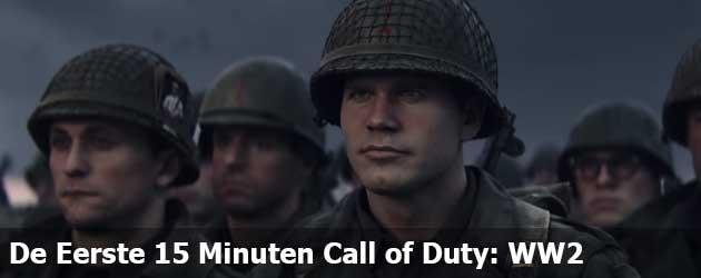 Check Hier De Eerste 15 Minuten Call of Duty: WW2
