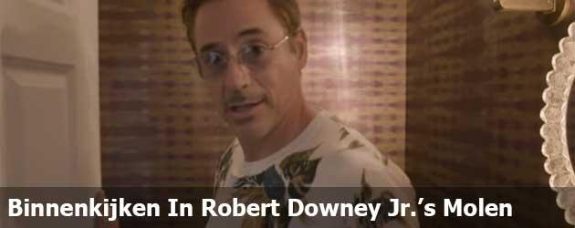 Even Binnenkijken In Robert Downey Jr.'s Windmolen