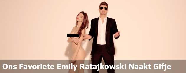 Ons Favoriete Emily Ratajkowski Naakt Gifje