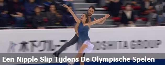Een Nipple Slip Tijdens De Olympische Spelen!
