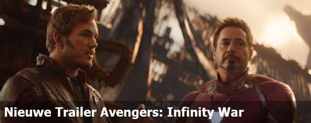 Nieuwe Trailer Avengers: Infinity War