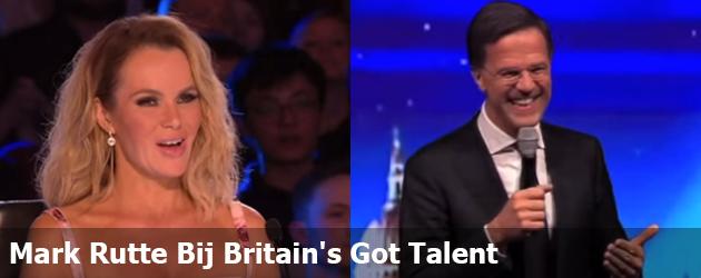 Mark Rutte Bij Britain's Got Talent