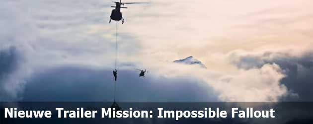 Nieuwe Trailer Mission: Impossible Fallout