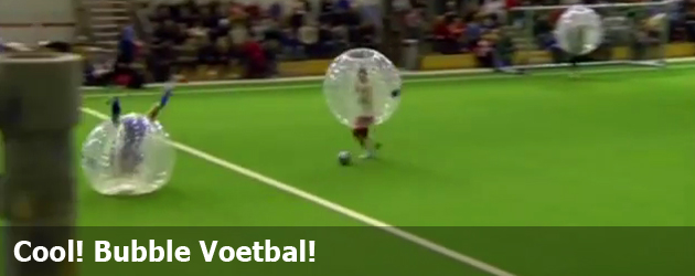 Cool! Bubble Voetbal!
