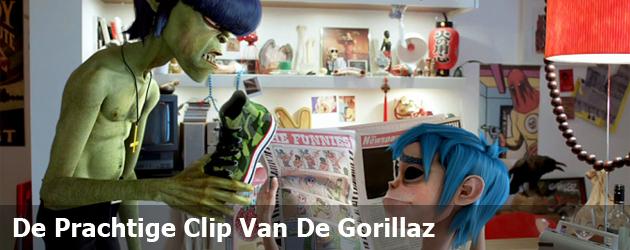 De Prachtige Clip Van De Gorillaz