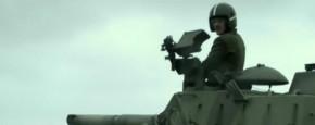 Kleiduiven Schieten Met Een Tank