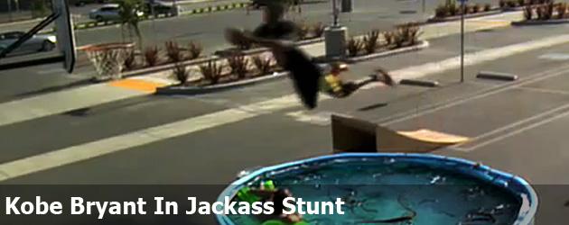 Kobe Bryant In Jackass Stunt