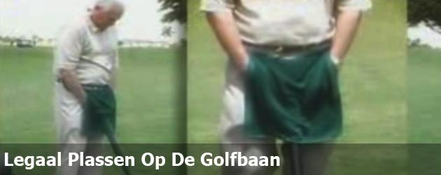 Legaal Plassen Op De Golfbaan