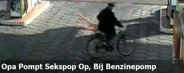 Opa Pompt Sekspop Op, Bij Benzinepomp