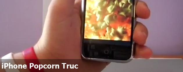 iPhone Popcorn Truc