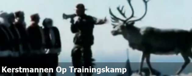 Kerstmannen Op Trainingskamp