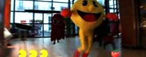Pacman Terroriseert Supermarkt