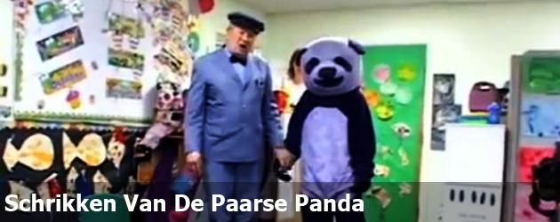 Schrikken Van De Paarse Panda