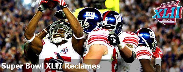 Super Bowl XLII Reclames
