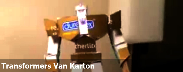 Transformers Van Karton