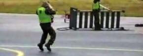 Breakdance Op De Landingsbaan