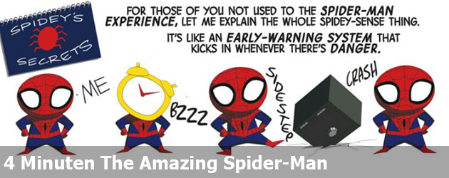 4 Minuten The Amazing Spider-Man