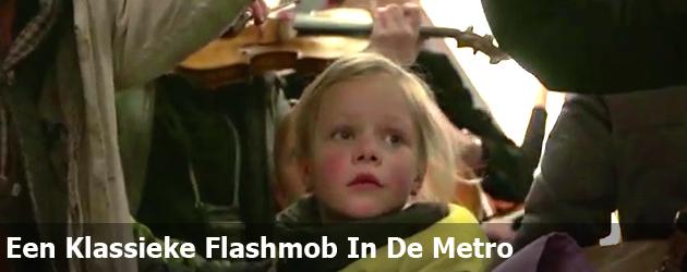 Een Klassieke Flashmob In De Metro