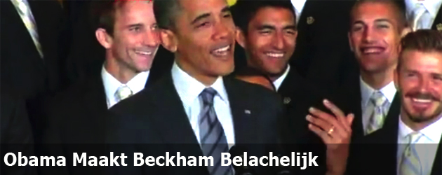 Obama Maakt Beckham Belachelijk