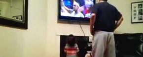 Sport Kijken Met Papa