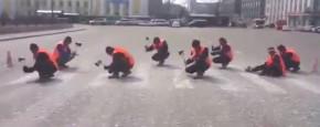 Zo Verwijderen Ze Een Zebrapad In Rusland