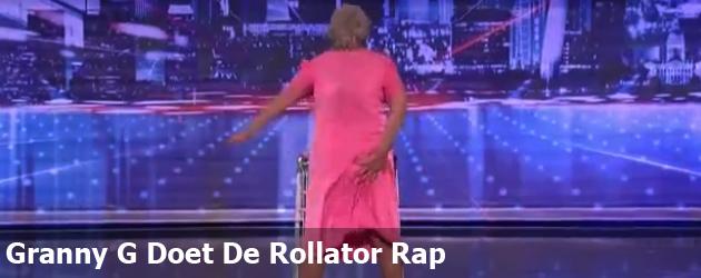 Granny G Doet De Rollator Rap