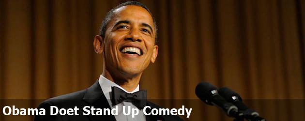 Obama Doet Stand Up Comedy
