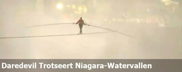 Daredevil Trotseert Niagara-Watervallen