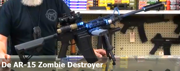 De AR-15 Zombie Destroyer