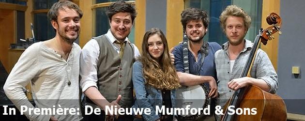 In Première: De Nieuwe Mumford & Sons