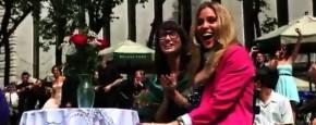 Flashmob Aanzoek In Het Park