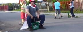 Poolse Bierkrat Auto Heeft Niet Geholpen