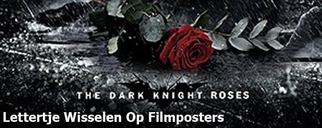 Lettertje Wisselen Op Filmposters