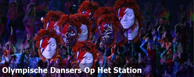 Olympische Dansers Op Het Station