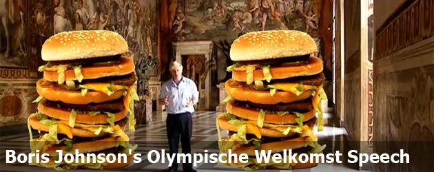 Boris Johnson's Olympische Welkomst Speech