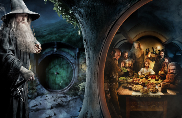 Enorme Banner The Hobbit