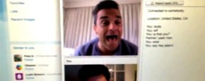 Robbie Williams Op Chatroulette
