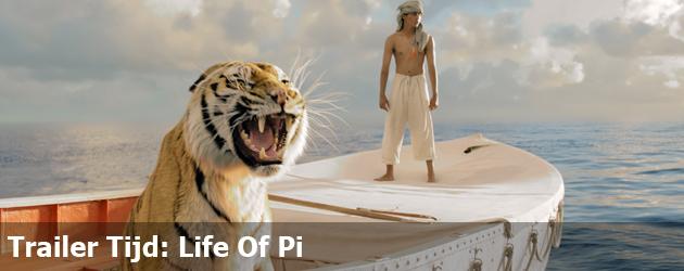 Trailer Tijd: Life Of Pi