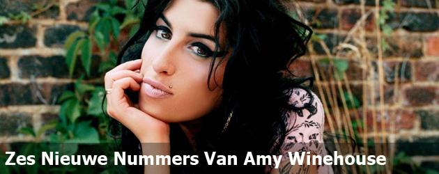 Zes Nieuwe Nummers Van Amy Winehouse