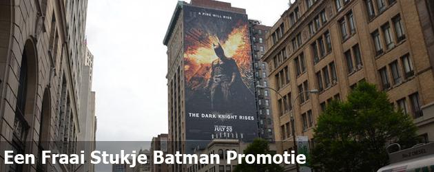 Een Fraai Stukje Batman Promotie