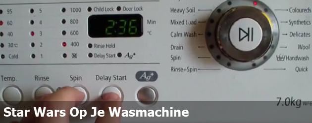Star Wars Op Je Wasmachine
