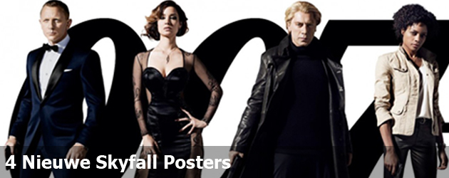 4 Nieuwe Skyfall Posters