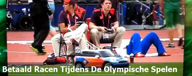 Betaald Racen Tijdens De Olympische Spelen