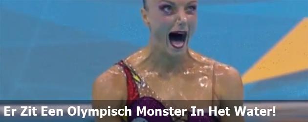 Er Zit Een Olympisch Monster In Het Water!