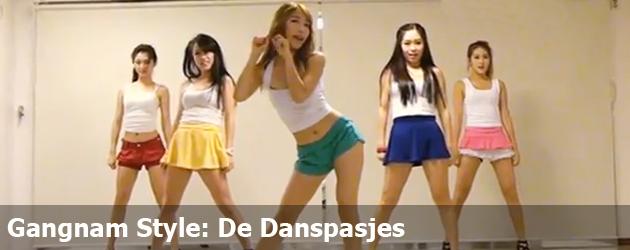 Gangnam Style: De Danspasjes