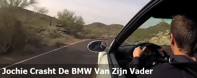 Jochie Crasht De BMW Van Zijn Vader