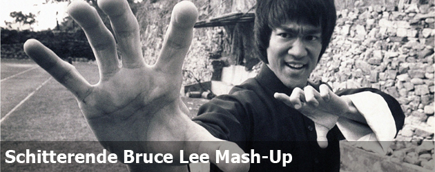 Schitterende Bruce Lee Mash-Up