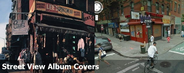 Street View Album Covers